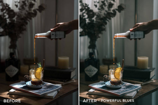 15 Powerful Blues - Sean Dalton Cafe & Food Film Lightroom Presets - FilterGrade Marketplace