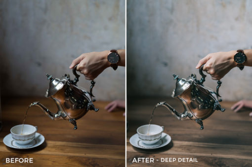 14 Deep Detail - Sean Dalton Cafe & Food Film Lightroom Presets - FilterGrade Marketplace