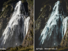 5.25 Moody Falls - Kirk Richards Lightroom Presets - @kirkjrichards - FilterGrade Digital Marketplace