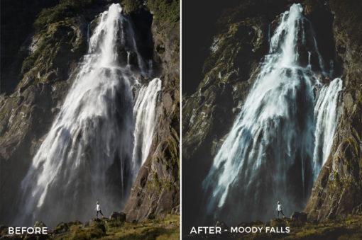 5.25 Moody Falls - Kirk Richards Lightroom Presets - @kirkjrichards - FilterGrade Digital Marketplace
