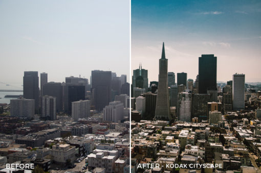 7 Kodak Cityscape - Kal Visuals Landscape Lightroom Presets I - Kyle Andrew Loftus - FilterGrade Digital Marketplace