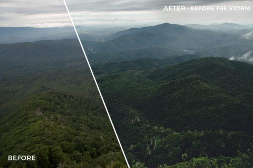 2 Before the Storm - Kal Visuals Landscape Lightroom Presets I - Kyle Andrew Loftus - FilterGrade Digital Marketplace
