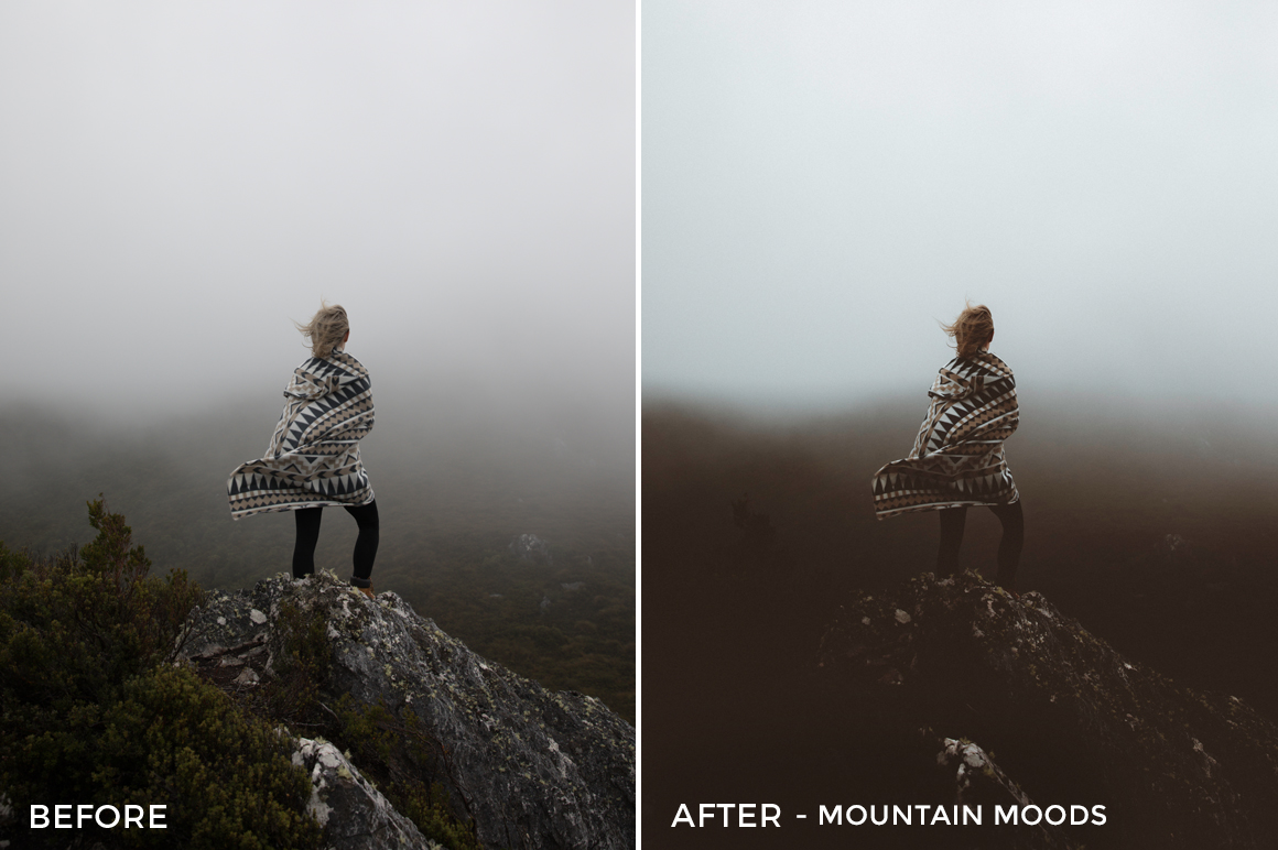 6 Mountain Moods - Kirk Richards Lightroom Presets - @kirkjrichards - FilterGrade Digital Marketplace