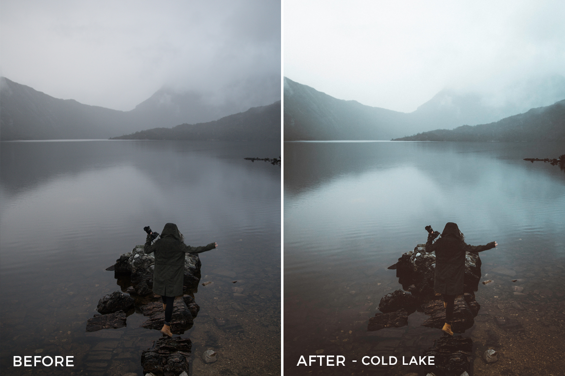 2 Cold Lake - Kirk Richards Lightroom Presets - @kirkjrichards - FilterGrade Digital Marketplace