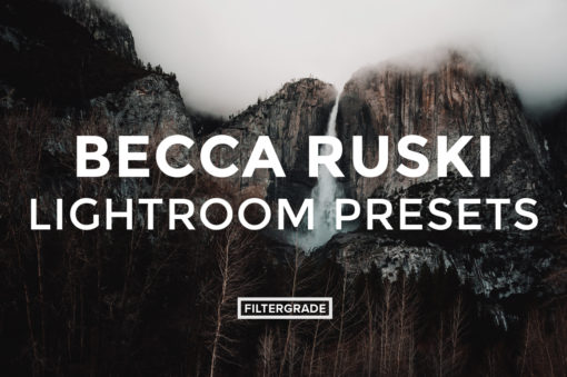Featured - Becca Ruski Lightroom Presets - Becca Ruski - FilterGrade Digital Marketplace