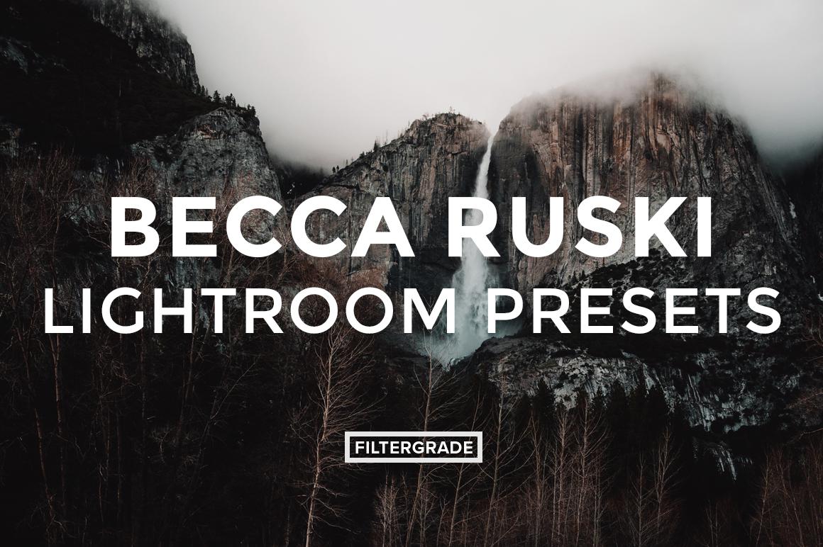 Featured - Becca Ruski Lightroom Presets - Becca Ruski - FilterGrade Digital Marketplace