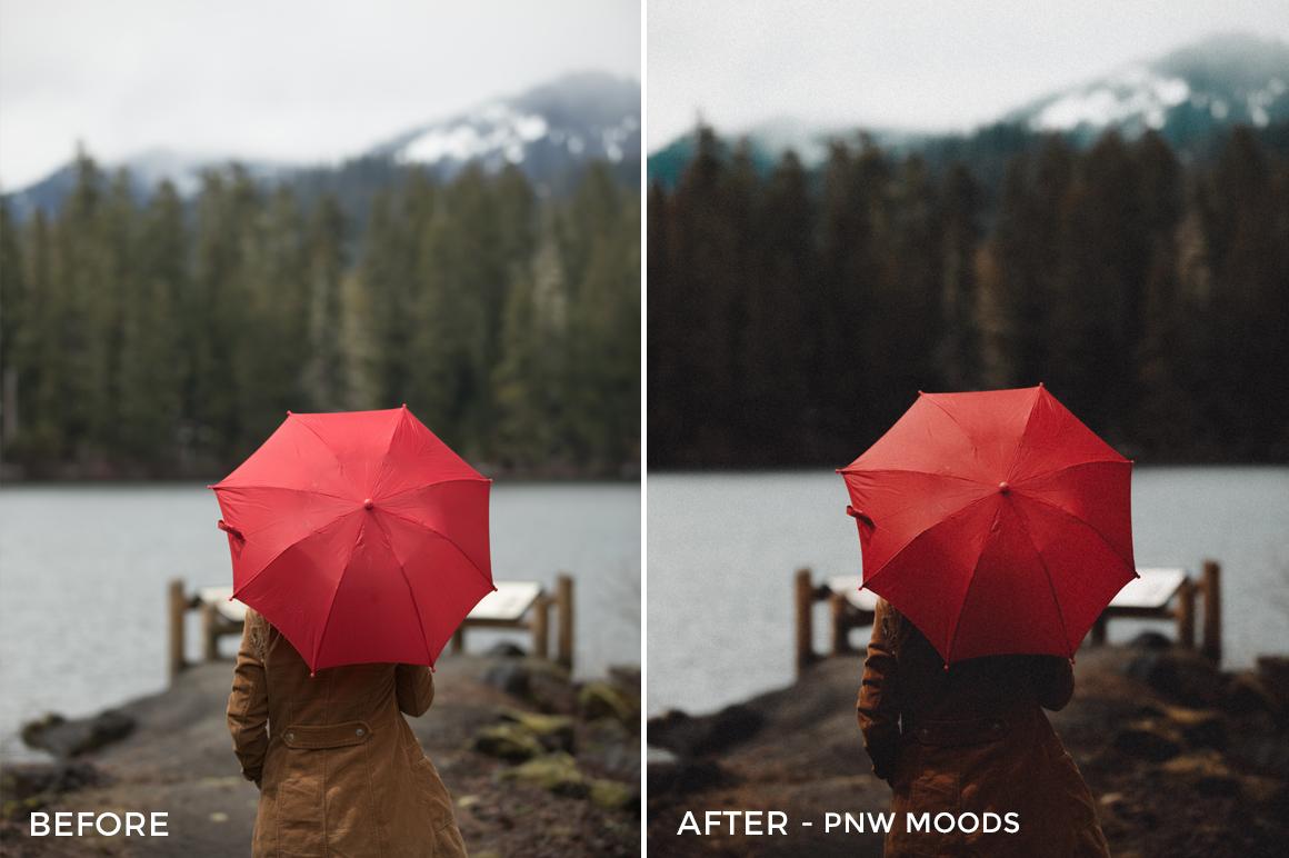 7 PNW Moods - Becca Ruski Lightroom Presets - Becca Ruski - FilterGrade Digital Marketplace