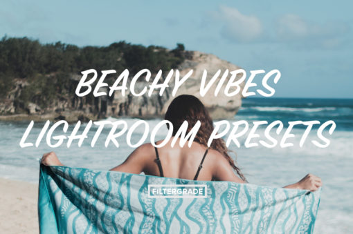 Featured Beachy Vibes Lightroom Presets - Kilikai Ahuna - FilterGrade Digital Marketplace