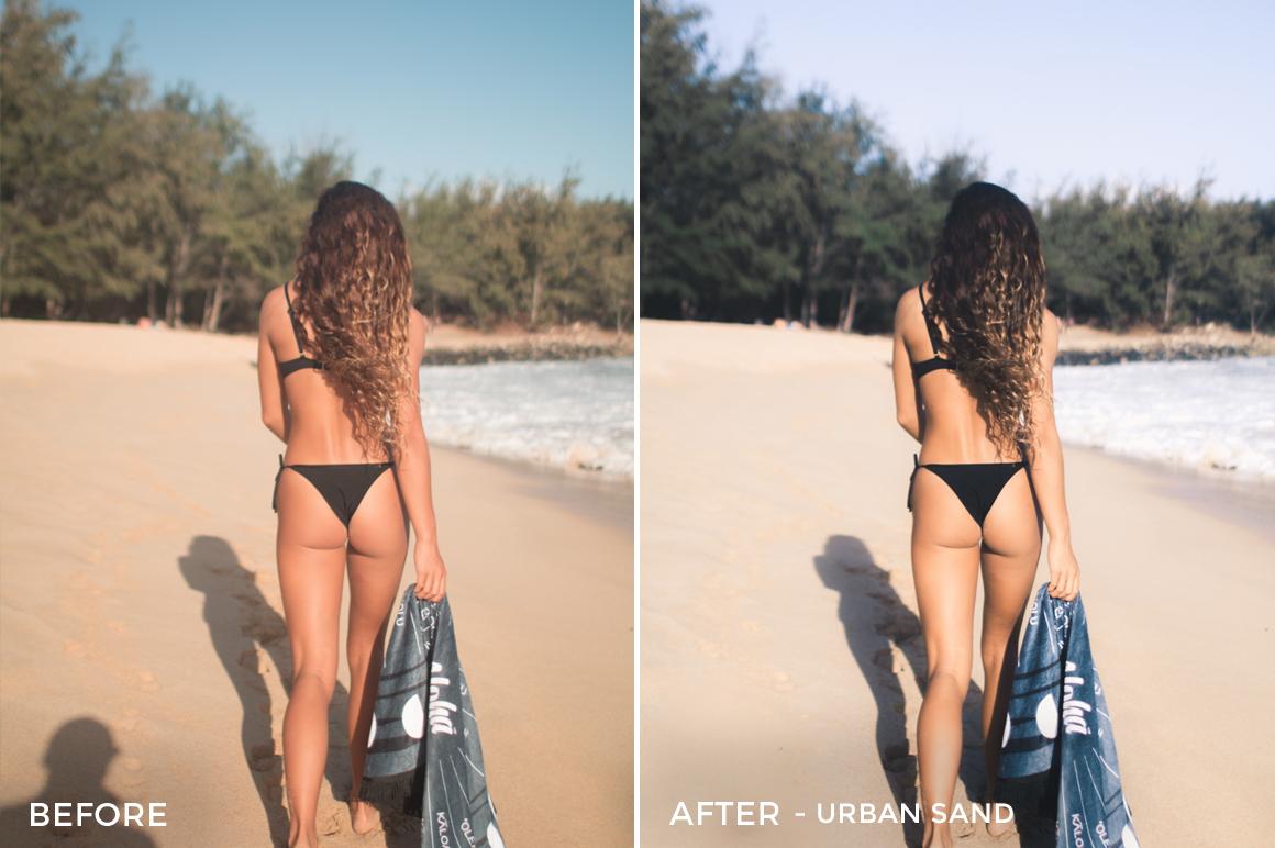 7 Urban Sand - Beachy Vibes Lightroom Presets - Kilikai Ahuna - FilterGrade Digital Marketplace