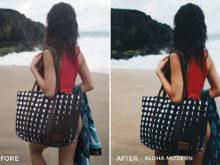 1 Aloha Modern - Beachy Vibes Lightroom Presets - Kilikai Ahuna - FilterGrade Digital Marketplace
