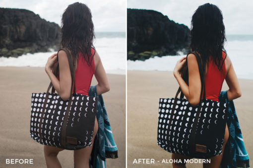 1 Aloha Modern - Beachy Vibes Lightroom Presets - Kilikai Ahuna - FilterGrade Digital Marketplace
