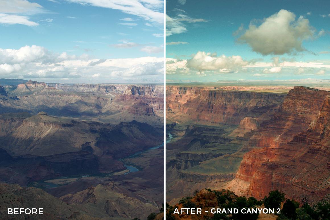 3 - Grand Canyon 2 - The Travel Series Lightroom Presets - Vesa Muhaxheri - FilterGrade Digital Marketplace