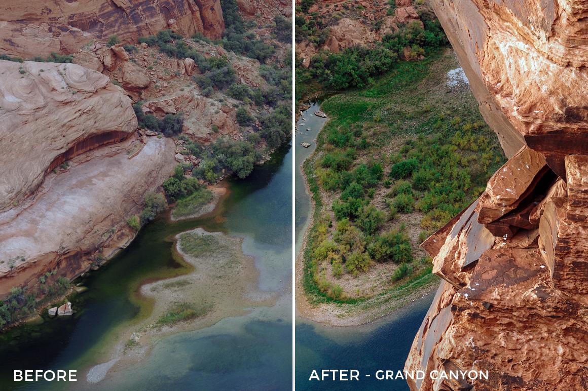 2 - Grand Canyon - The Travel Series Lightroom Presets - Vesa Muhaxheri - FilterGrade Digital Marketplace