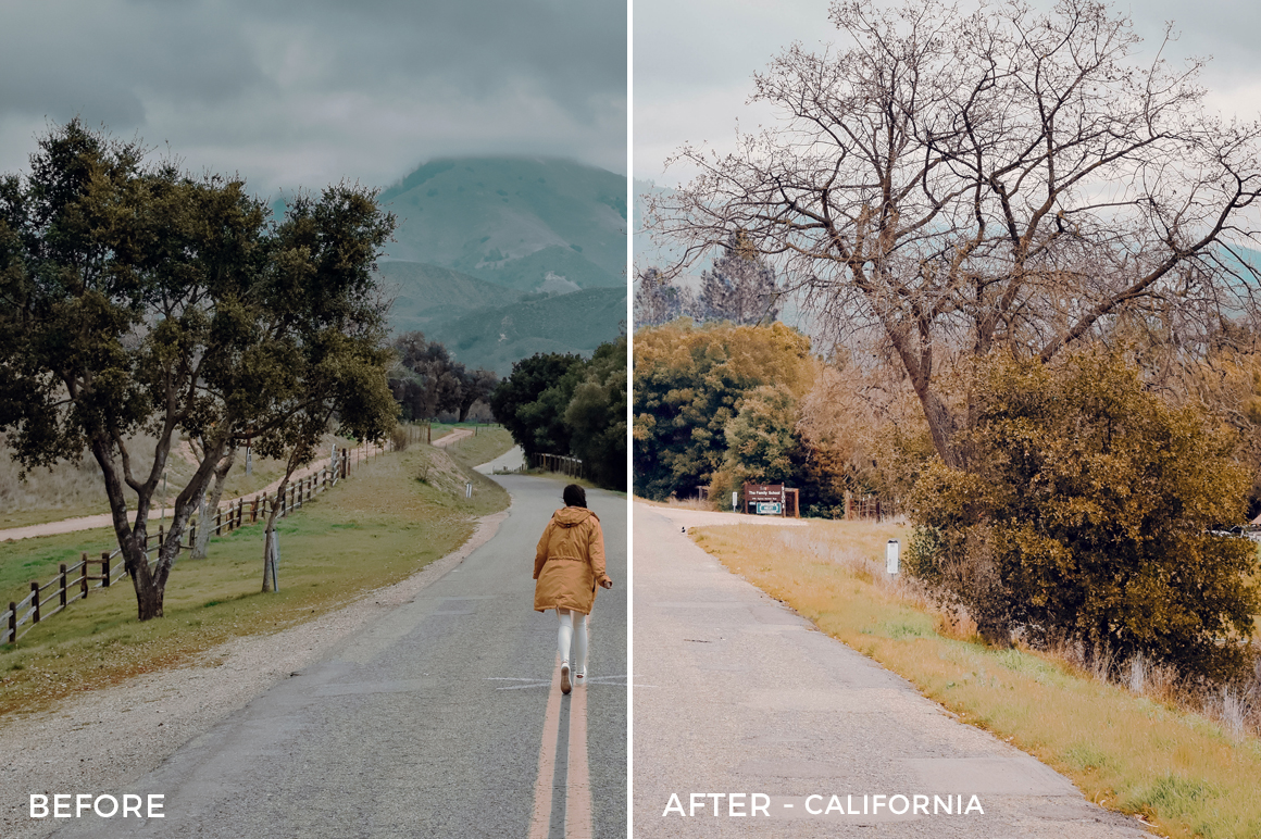 1 - California - The Travel Series Lightroom Presets - Vesa Muhaxheri - FilterGrade Digital Marketplace