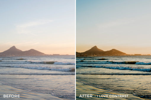 4 - I Love Contrast - Osse Greca Sinare Sand & Waves Lightroom Presets - FilterGrade Digital Marketplace