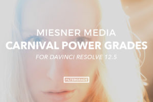Miesner Media Carnival Power Grades for Davinci Resolve 12.5