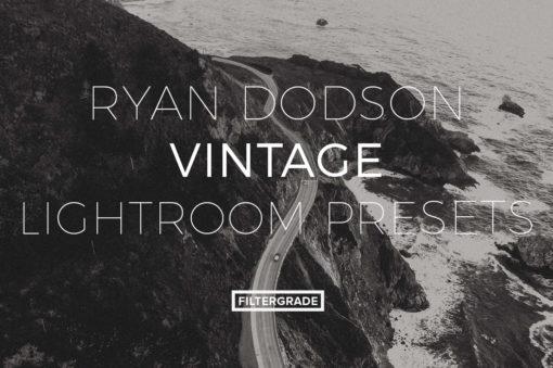 Featured Ryan Dodson Vintage Lightroom Presets - FilterGrade Marketplace
