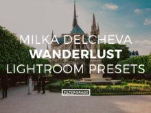 Featured Milka Delcheva Wanderlust Lightroom Presets- FilterGrade Marketplace