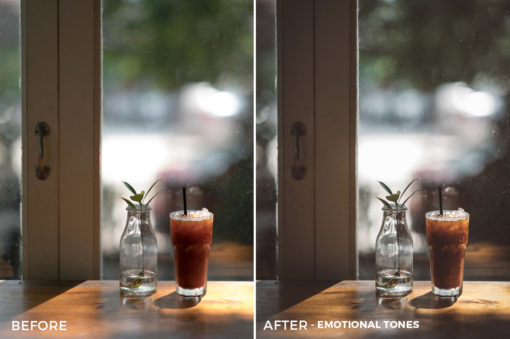 10 Emotional Tones Sean Dalton Cafe & Food Film Lightroom Presets - FilterGrade Marketplace