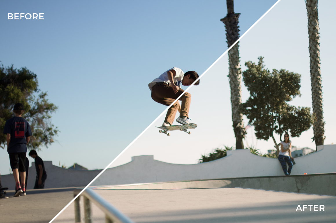 4 Forest Dempsey Shred & Skate Lightroom Presets - FilterGrade Marketplace