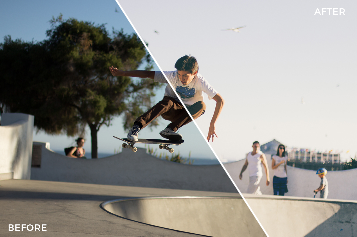 3 Forest Dempsey Shred & Skate Lightroom Presets - FilterGrade Marketplace