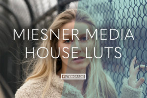 Custom color grading house LUTs from Miesner Media.