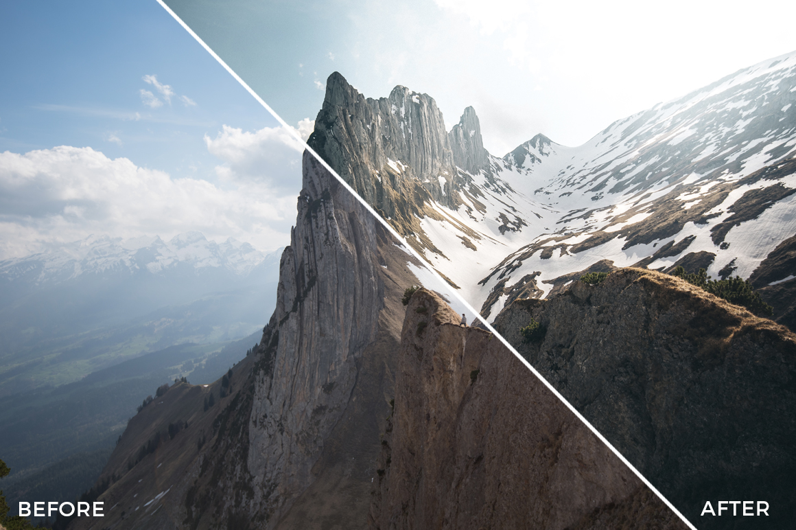 9 The Alpinists Lightroom Presets - FilterGrade Marketplace