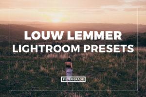 Featured Louw Lemmer Lightroom Presets - FilterGrade Marketplace