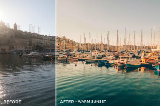 11 Warm Sunset- Black.White.Vivid Travel Lightroom Presets - Black.White.Vivid Blog - FilterGrade Digital Marketplace