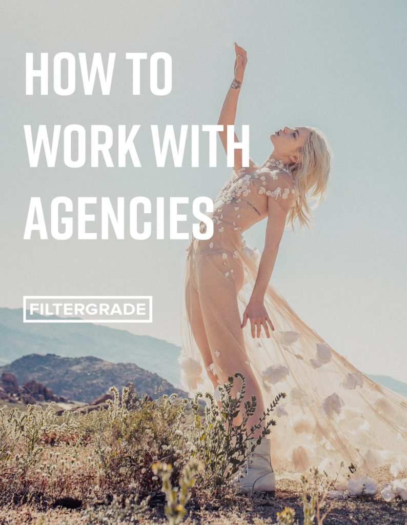 Start working with agencies. Learn how to work with talent agencies and professional models in this article from Allegra Messina.