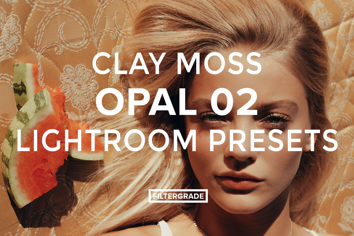Featured - Clay Moss Opal 02 Lightroom Presets - Clay Moss Portrait and Fashion Photography - FilterGrade Digital Marketplace