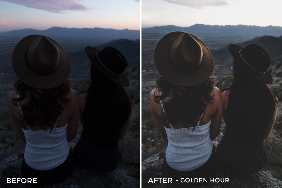 9 Golden Hour - Rocky Pines Lightroom Presets - Forrest Blake Photography - Nubko - FilterGrade Digital Marketplace