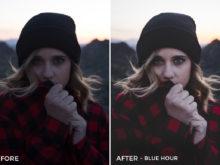 5 Blue Hour - Rocky Pines Lightroom Presets - Forrest Blake Photography - Nubko - FilterGrade Digital Marketplace