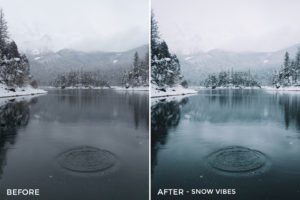 3 Snow Vibes - Nathael Labat Lightroom Presets - Nathael Labat Photography at French Folks - FilterGrade Digital Marketplace