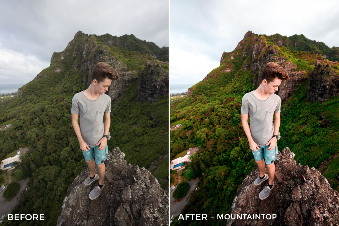 3 mountaintop - Julien Azelart Lightroom Presets - julienazelart - FilterGrade Digital Marketplace