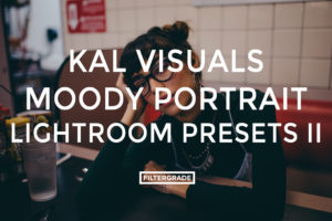 Featured Kal Visuals Moody Portrait Lightroom Presets - Kyle Andrew Loftus - FilterGrade Digital Marketplace