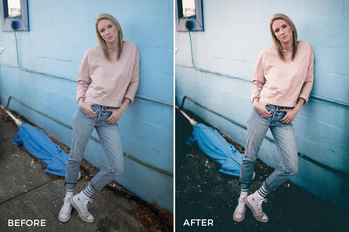 3 Kal Visuals Moody Portrait Lightroom Presets - Kyle Andrew Loftus - FilterGrade Digital Marketplace