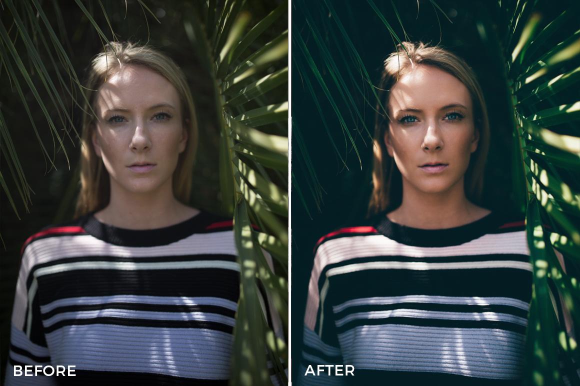 2 Kal Visuals Moody Portrait Lightroom Presets - Kyle Andrew Loftus - FilterGrade Digital Marketplace