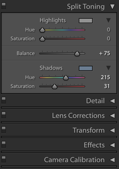 Split Toning / Hue and Saturation Effects - Tips and Tricks for Using FilterGrade Presets