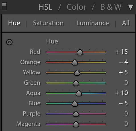 HSL Color Adjustment - Tips and Tricks for Using FilterGrade Presets