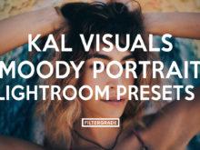 Featured - Kal Visuals Moody Portrait Lightroom Presets - Kyle Andrew Loftus - FilterGrade Digital Marketplace