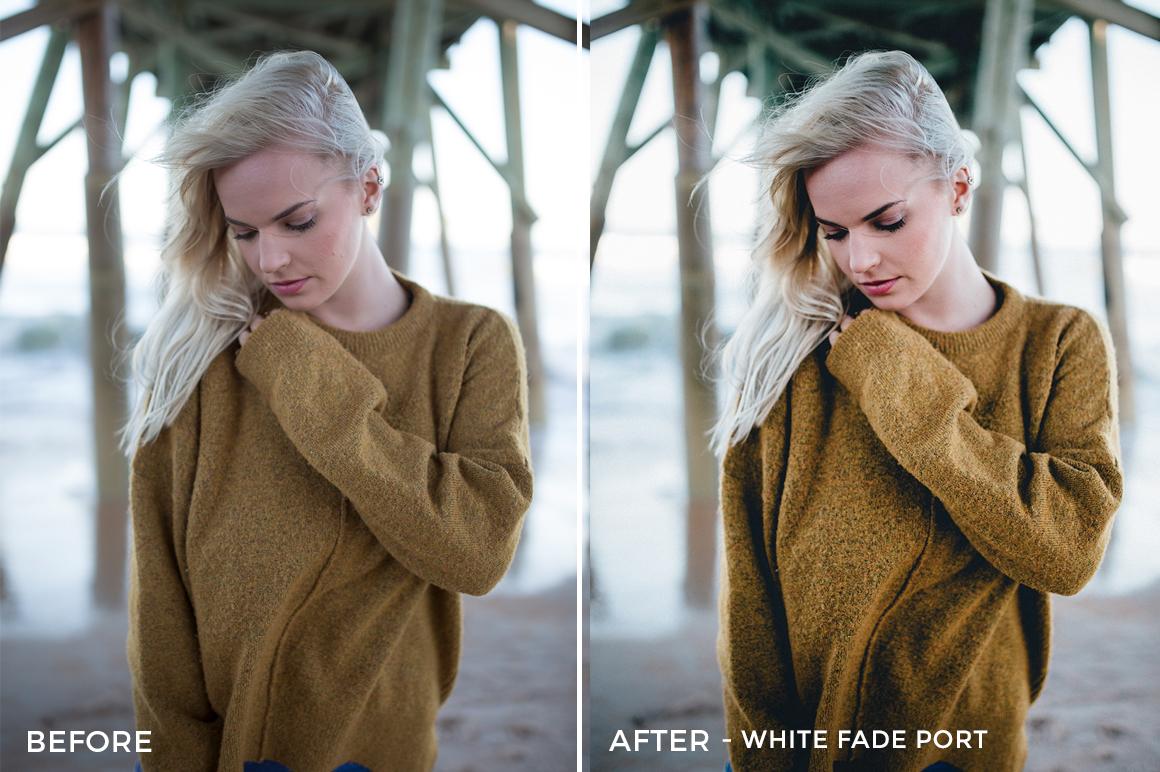 12 White Fade Port - Kal Visuals Moody Portrait Lightroom Presets - Kyle Andrew Loftus - FilterGrade Digital Marketplace