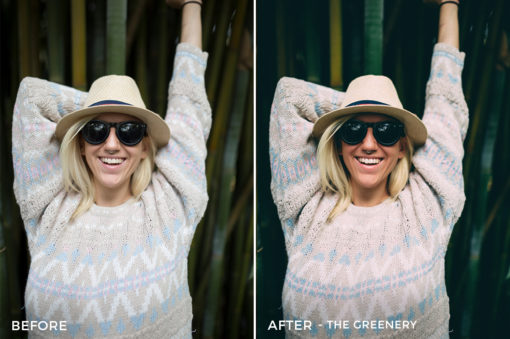 9 The Greenery - Kal Visuals Moody Portrait Lightroom Presets - Kyle Andrew Loftus - FilterGrade Digital Marketplace