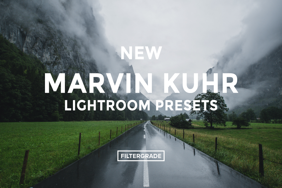 Featured - NEW Marvin Kuhr Lightroom Presets - FilterGrade