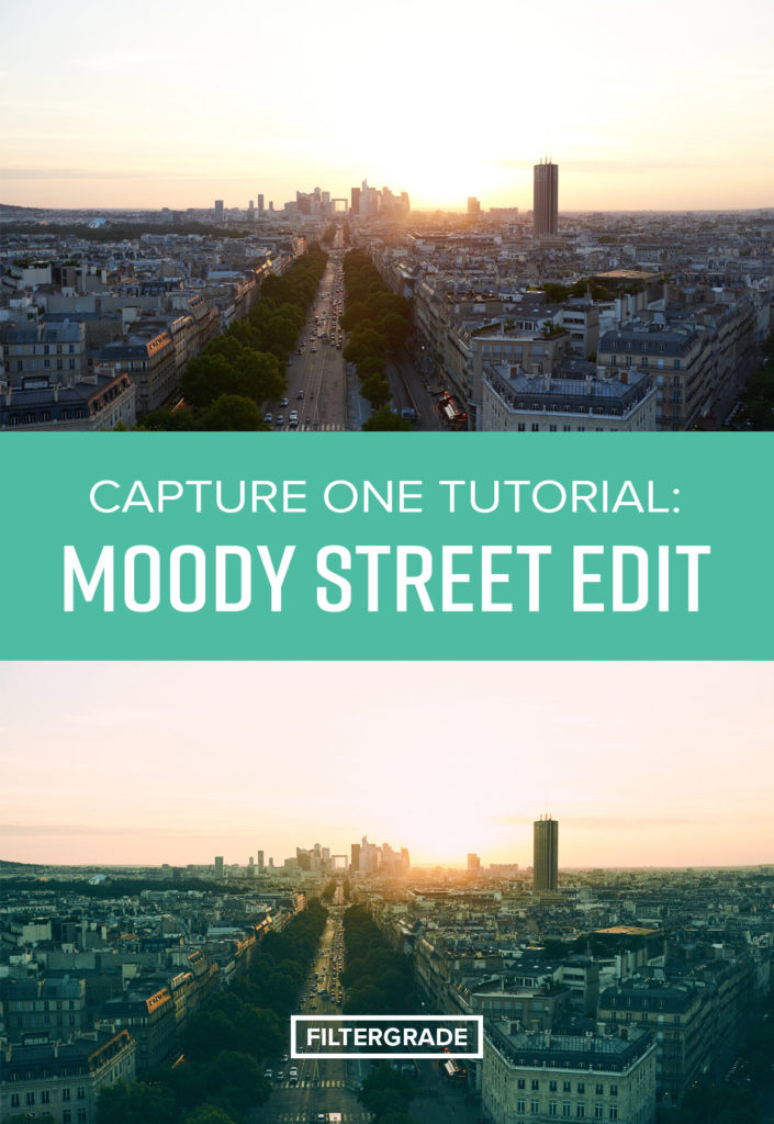Capture One Tutorial - How to Create a Moody Street Effect.