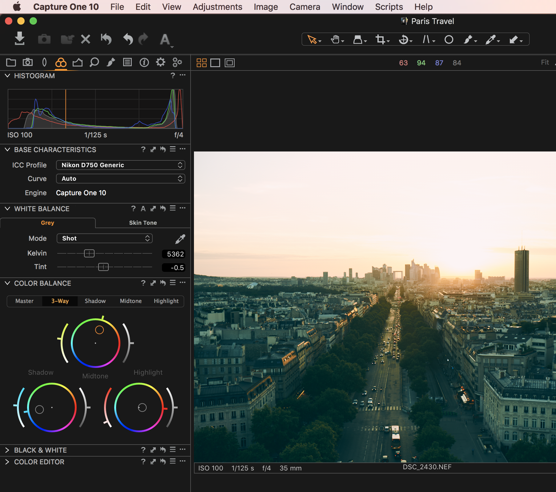 add color in capture one pro tutorial