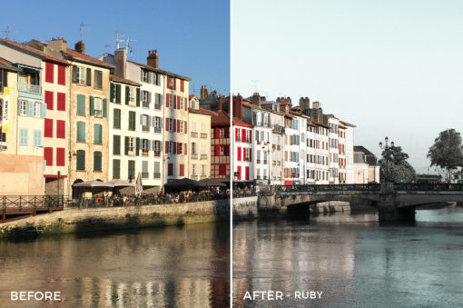 5 Ruby - Aide Merino Emerald Lightroom Presets - FilterGrade Digital Marketplace