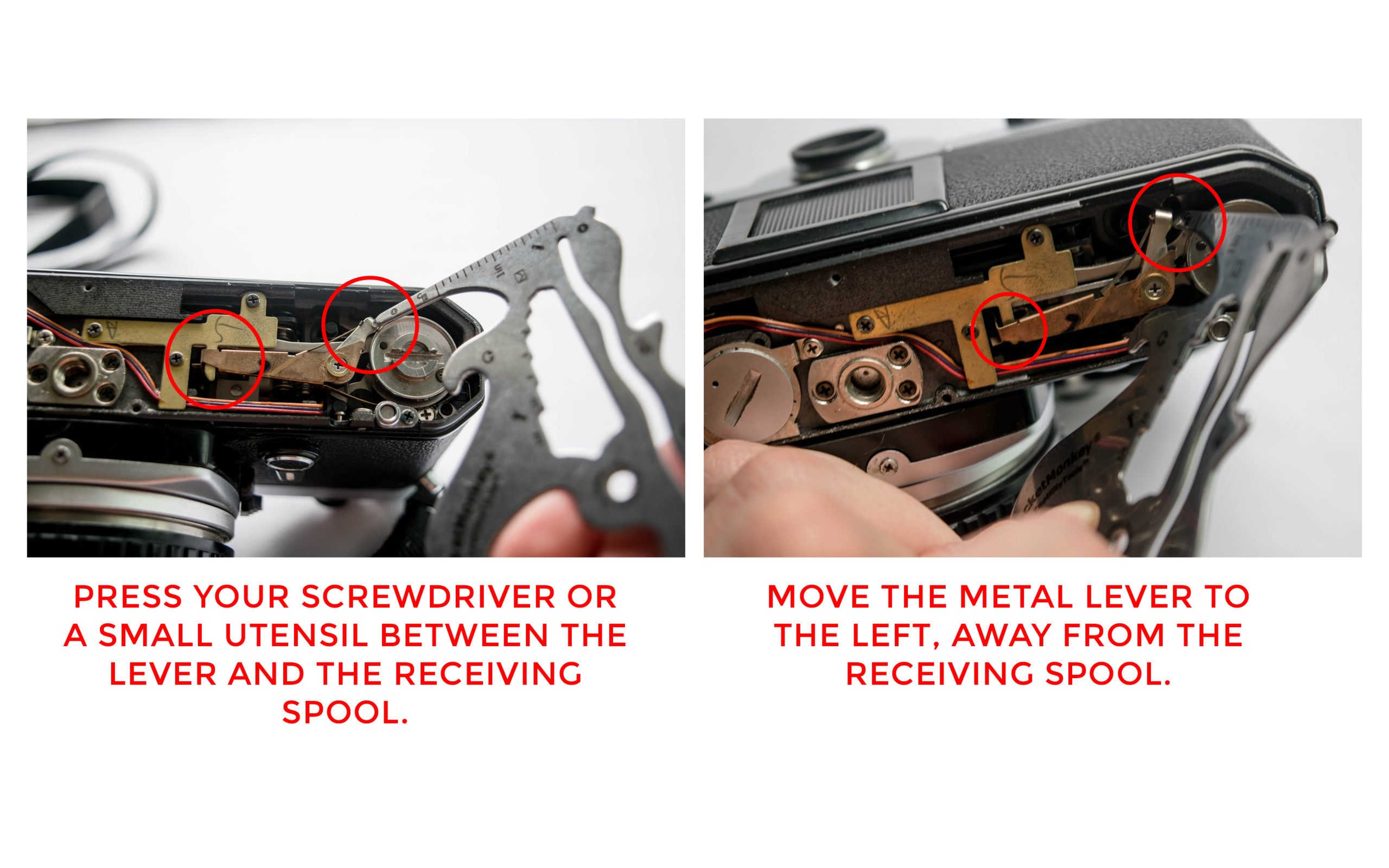 Solution - How to Fix a Nikon FE Film Camera with a Jammed Shutter - FilterGrade Blog