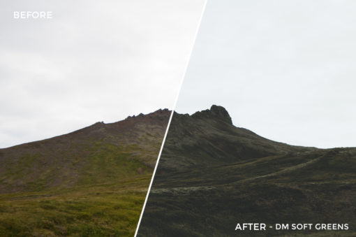 6 DM SOft Greens - Dark Matter Lightroom Presets - Noah Humphreys Photography - FilterGrade Digital Marketplace