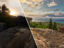 10 Loaded Landscapes Aurora HDR Presets - FilterGrade Digital Marketplace